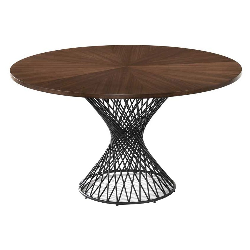 Amina Commercial Grade Round Dining Table, 127cm