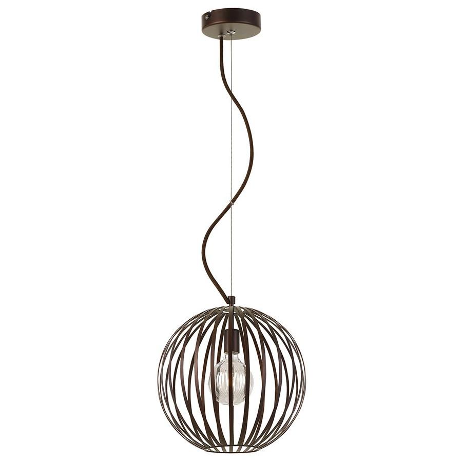 Midori Metal Pendant Light, 30cm, Bronze