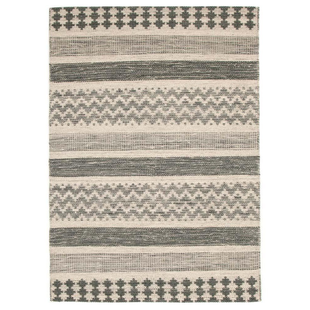 Rhythm Pulse Hand Loomed Wool Rug, 230x320cm