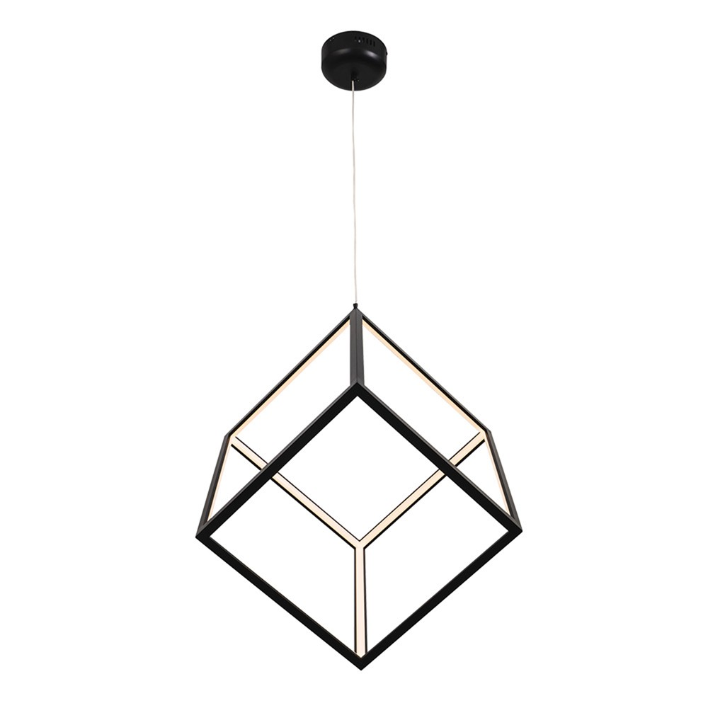 Rubix Metal LED Pendant Light, Small