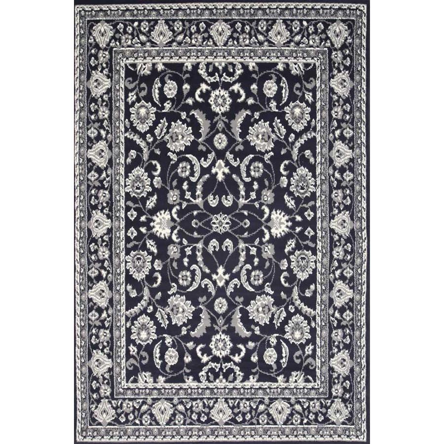 Morgan Barolo Turkish Made Oriental Rug, 120x170cm, Midnight Blue