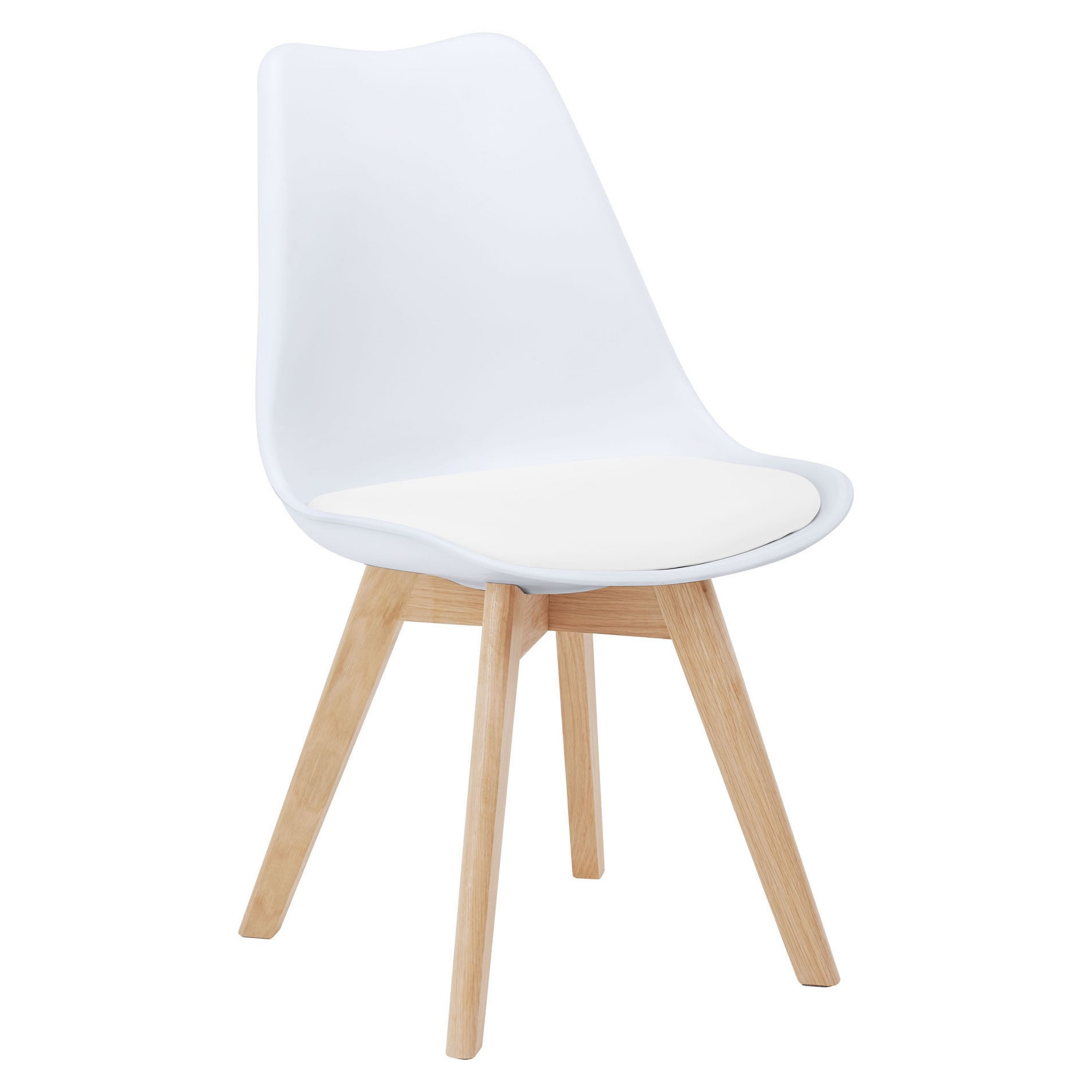 Morrison Dining Chair, White