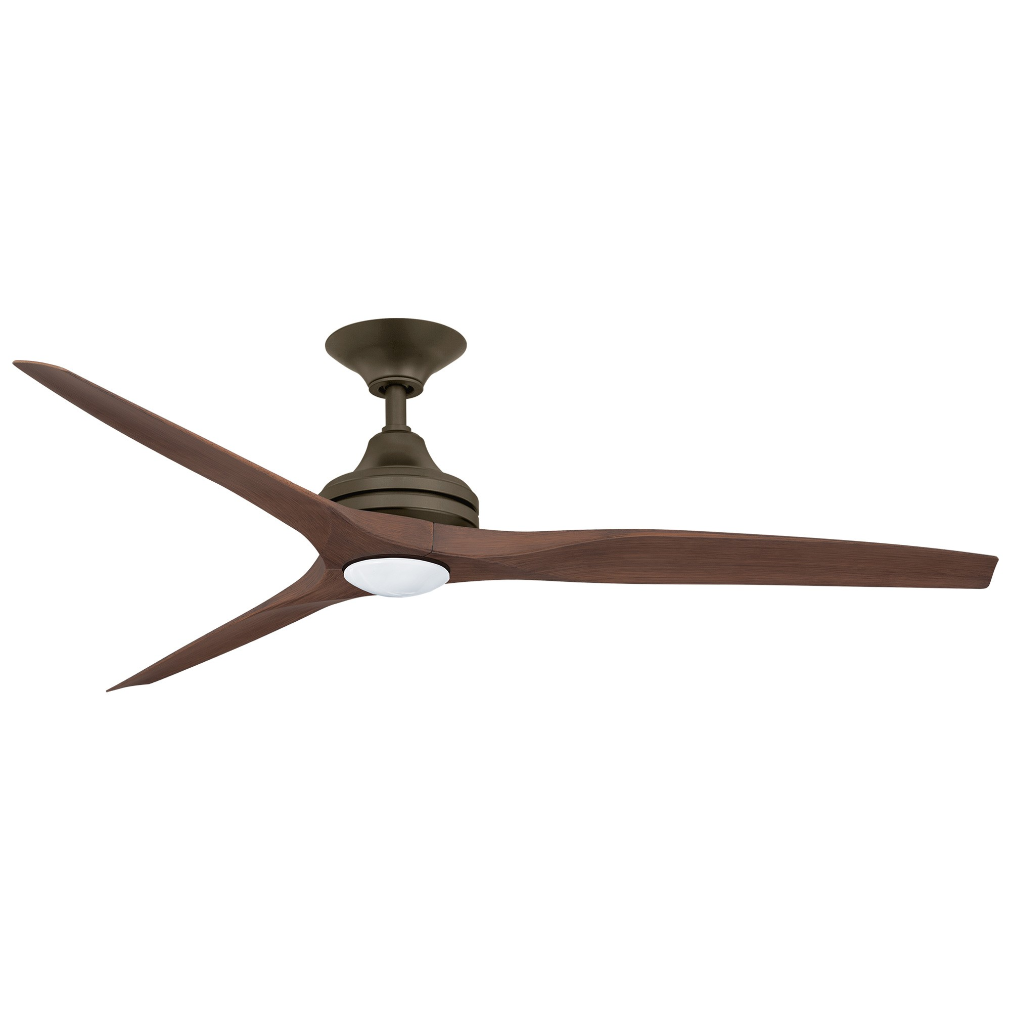Threesixty Spitfire 2 Commercial Grade Ceiling Fan with LED Light, 152cm/60