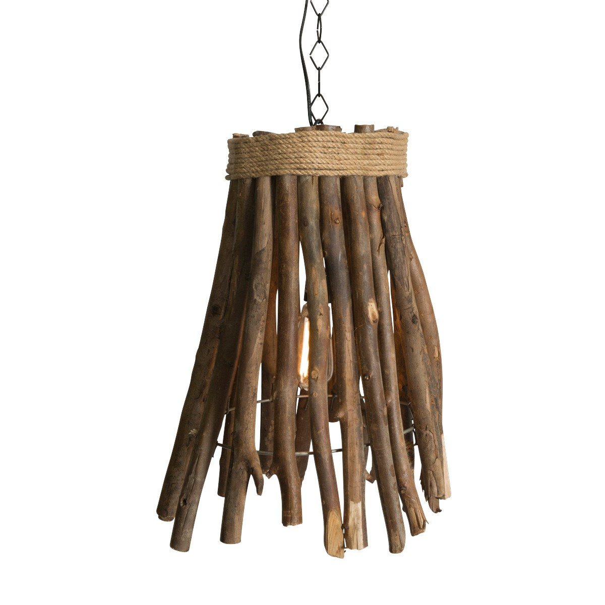 Jenolan Wood Stick Pendant Light