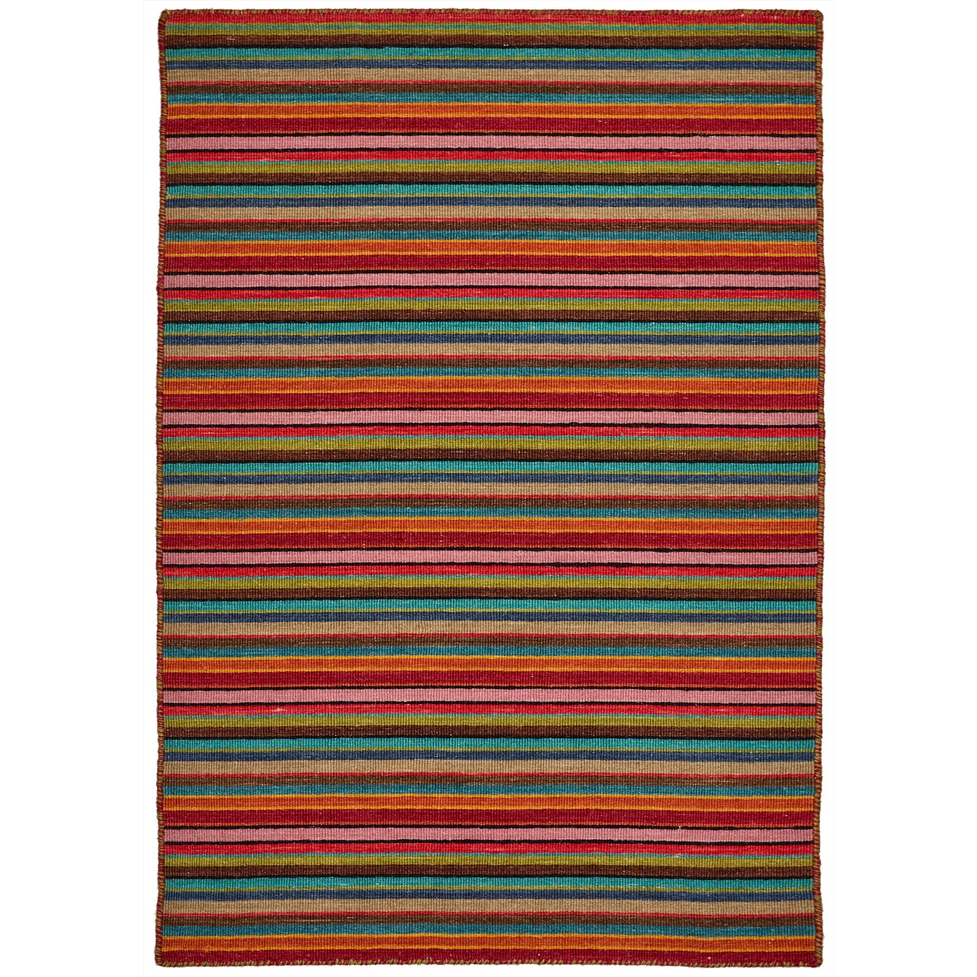 Misha No.44 Modern Wool Rug, 330x240cm
