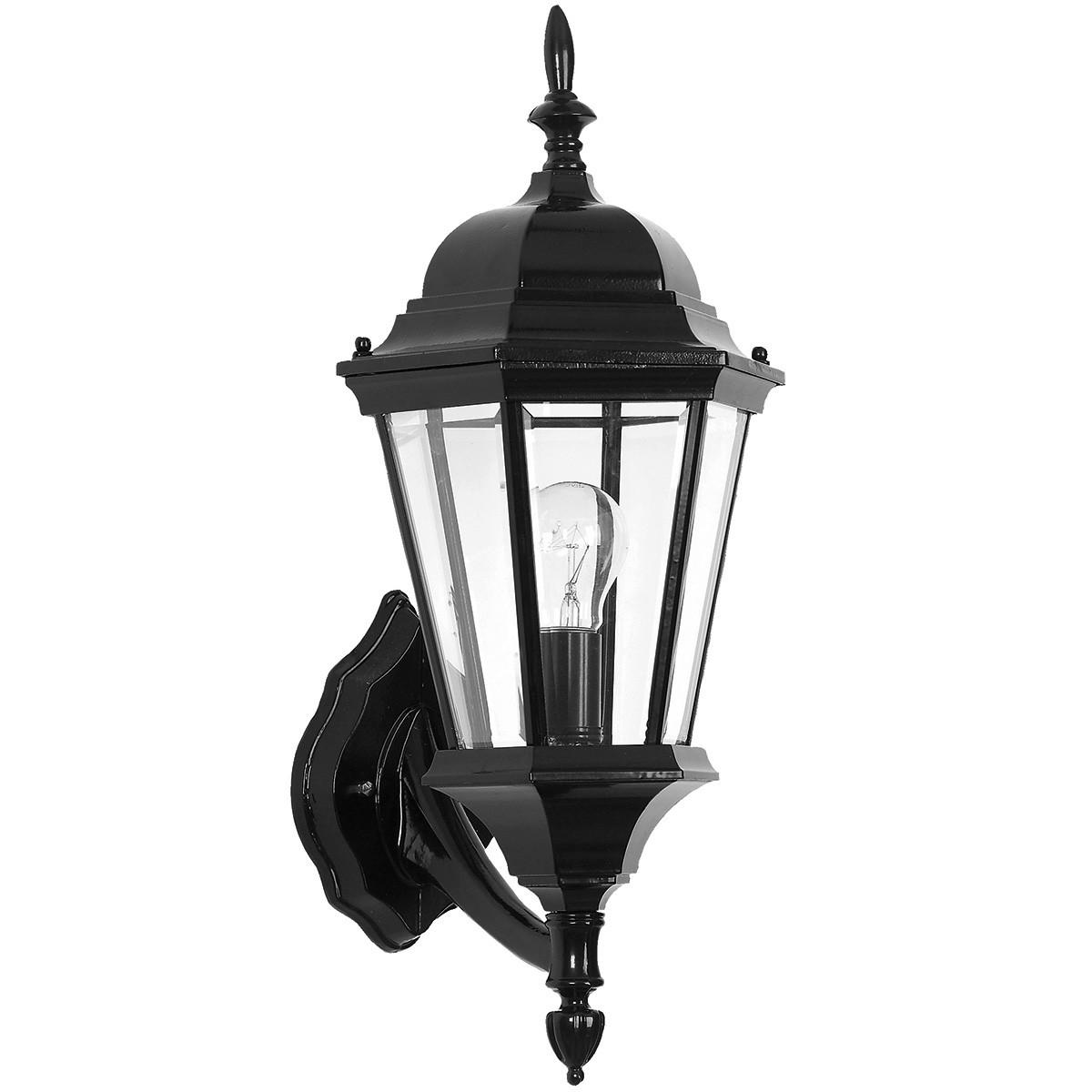 Yarra IP44 Exterior Wall Lantern, Black