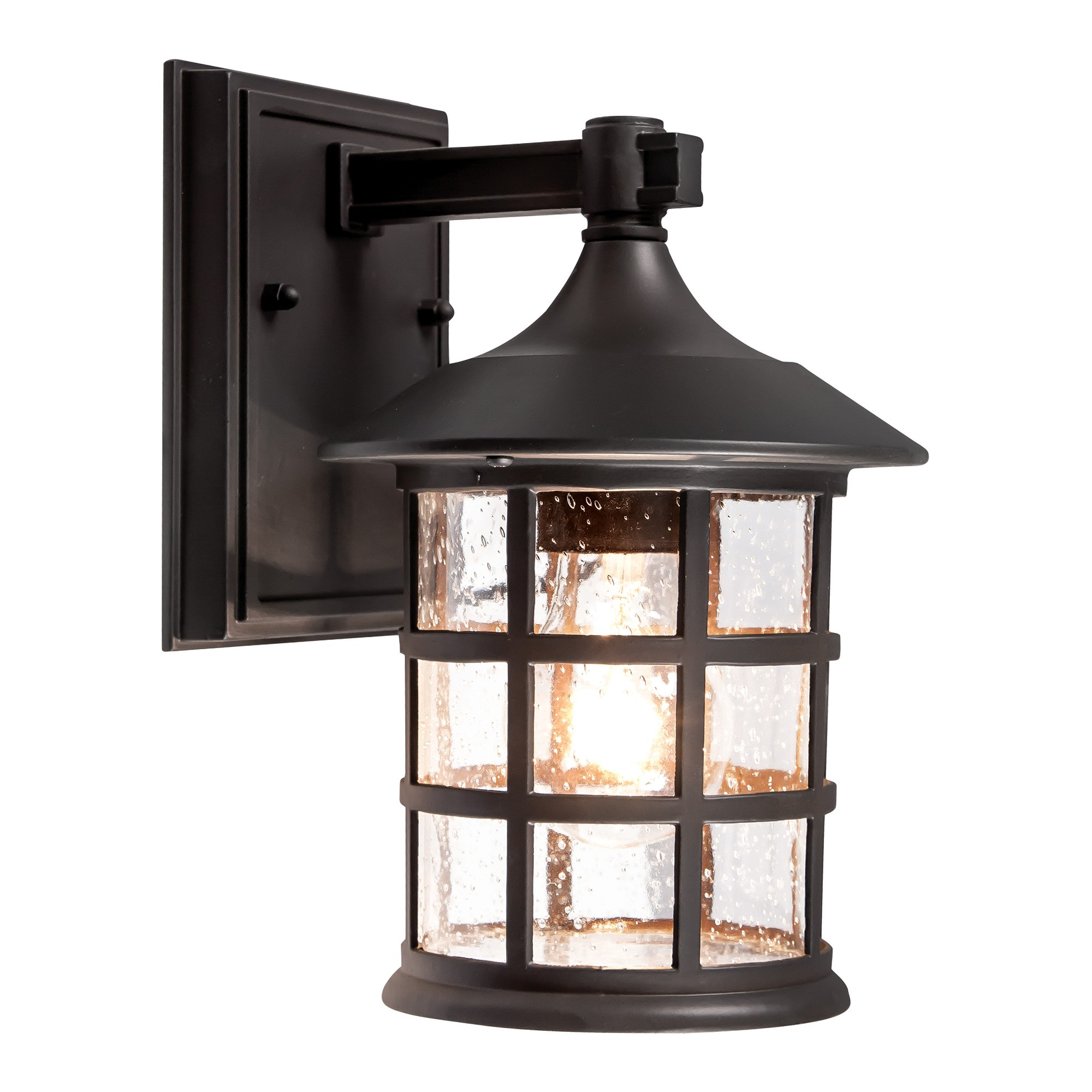 Louis IP44 Outdoor Wall Lantern, Small