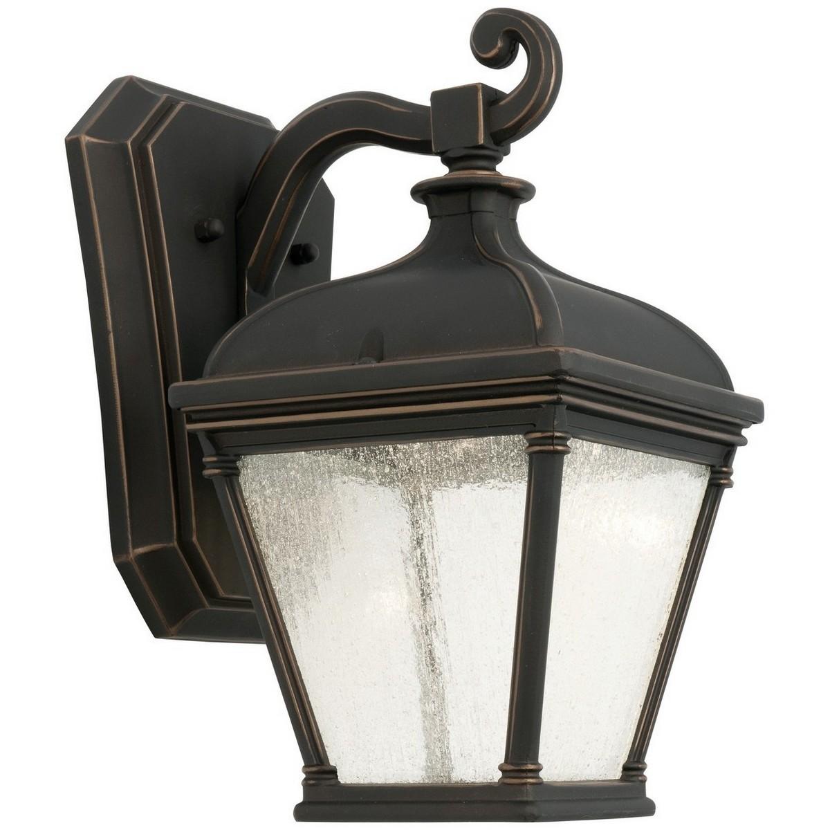 Austin Exterior LED Wall Lantern, Small