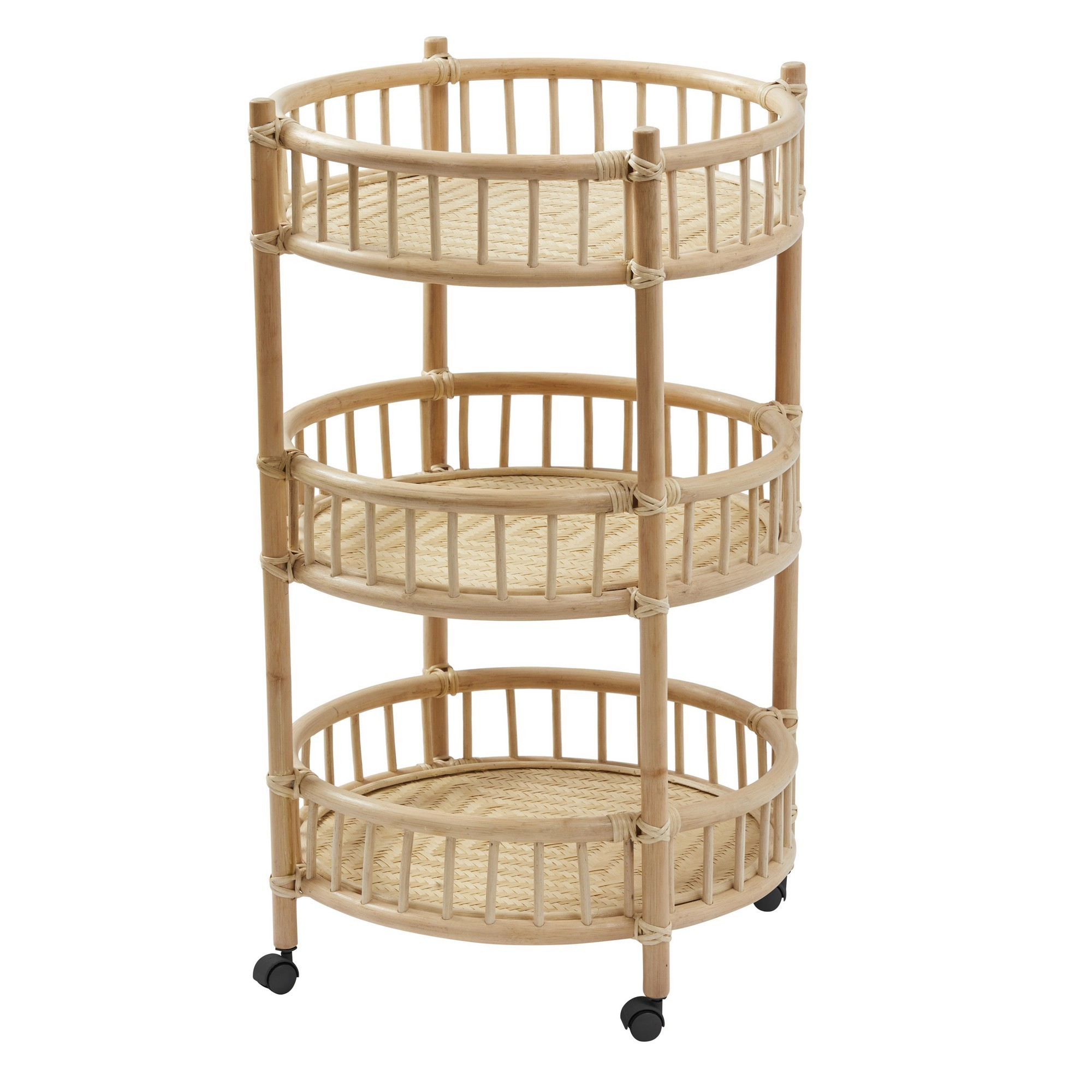 Porton Rattan Drinks Trolley