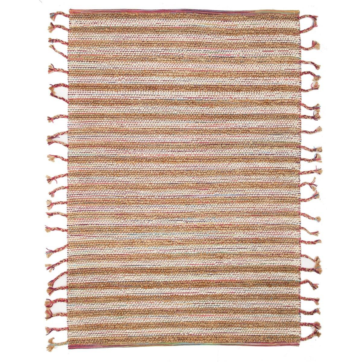 Nordic Summer Wool & Jute Rug, 280x190cm
