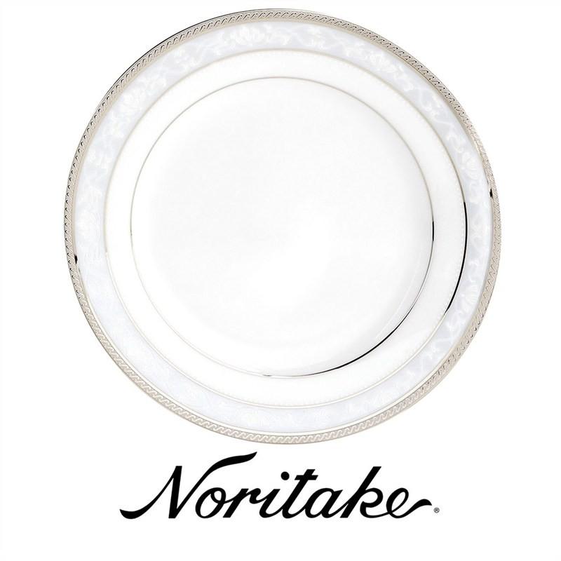 Noritake Hampshire Platinum Fine China Dinner Plate