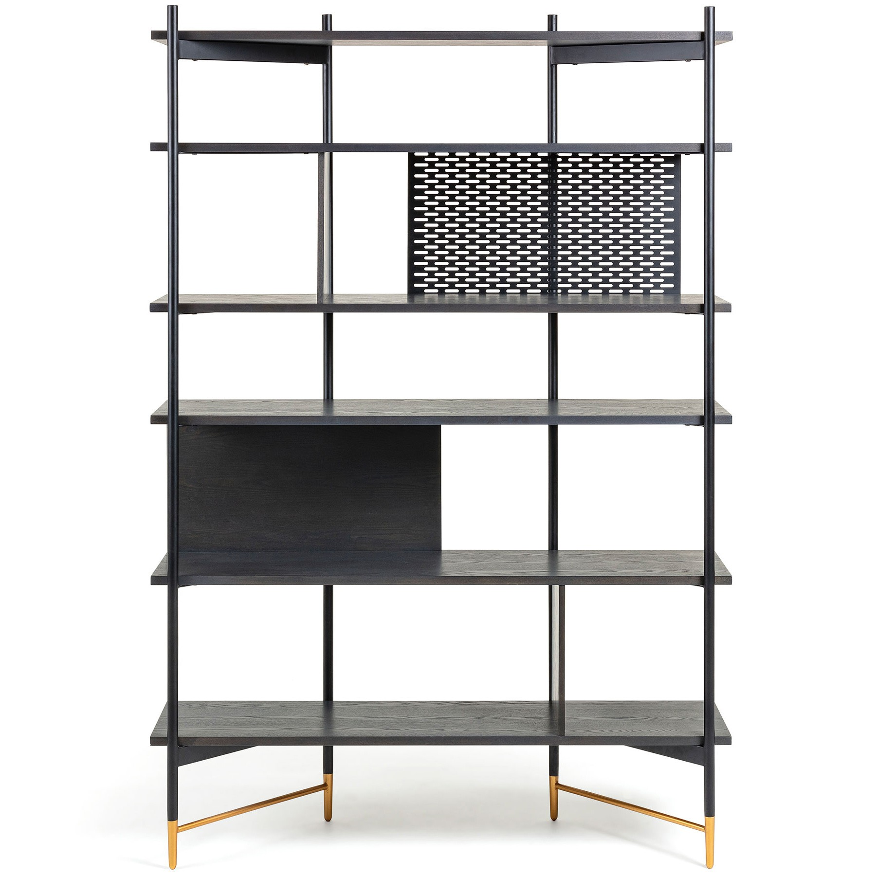 Macleod Ashwood & Metal Display Shelf