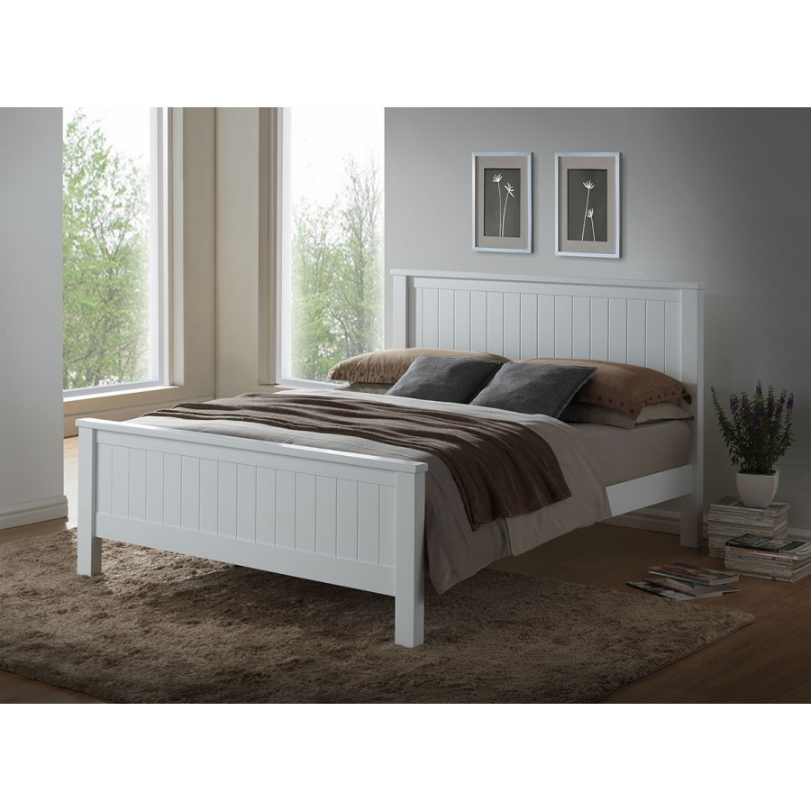 Brodie Wooden Bed, King