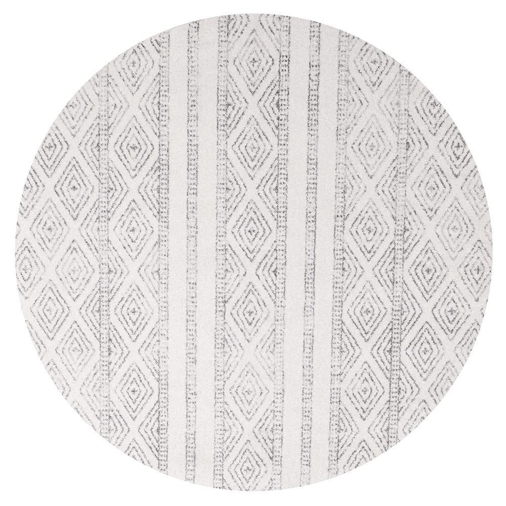 Oasis Salma Tribal Round Rug, 240cm