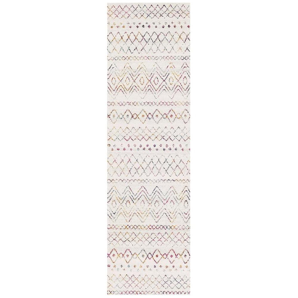 Oasis Nadia Tribal Runner Rug, 80x300cm, Multi