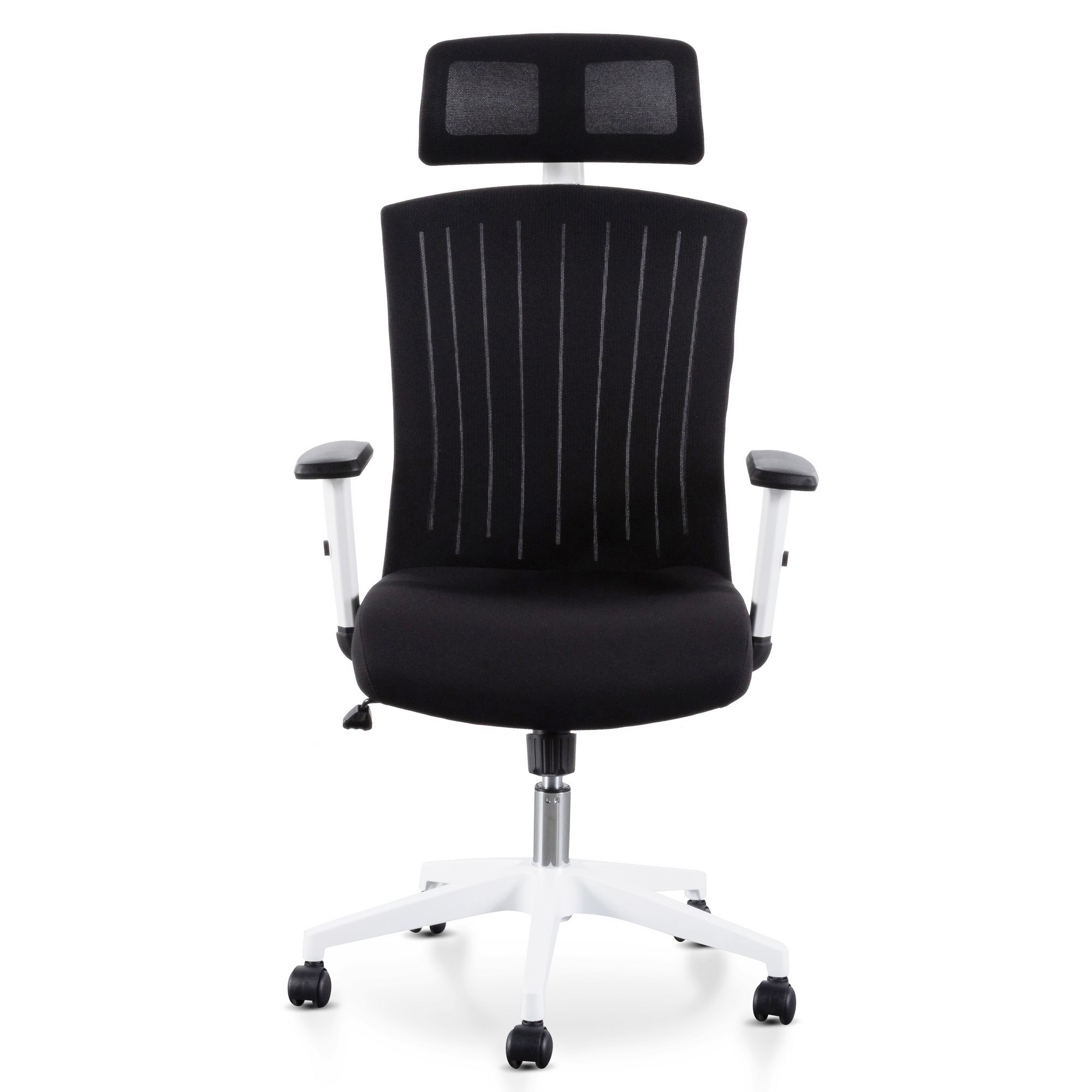 Barnsley Fabric Office Chair, Black / White