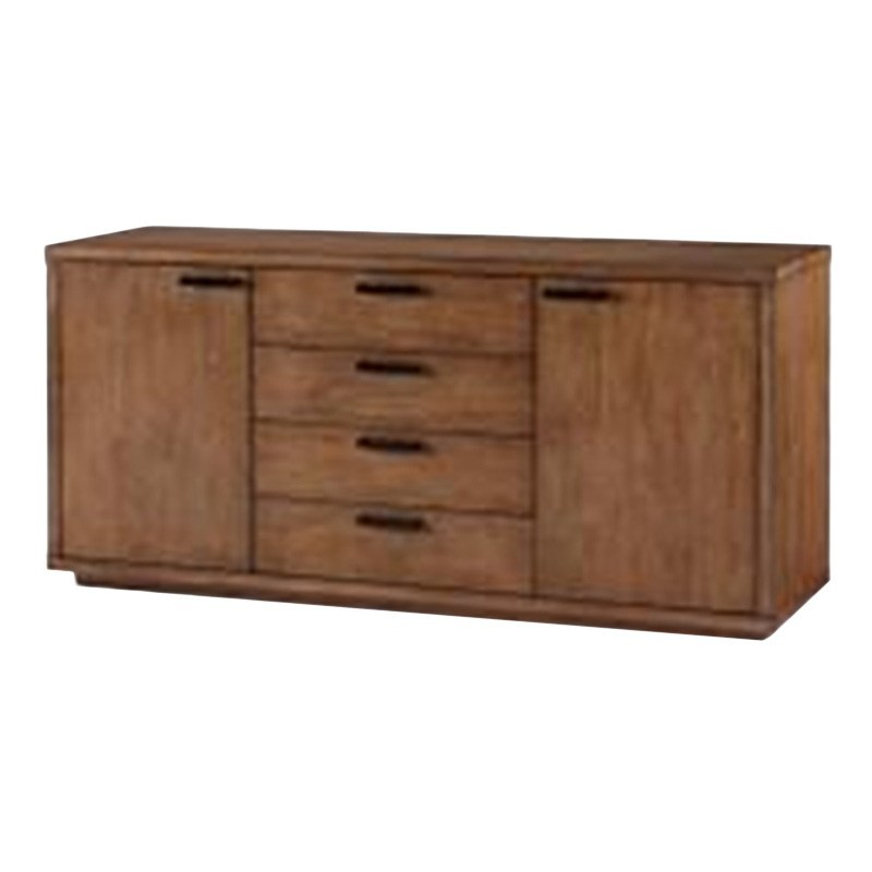 Austell Solid Hardwood Timber Buffet Table