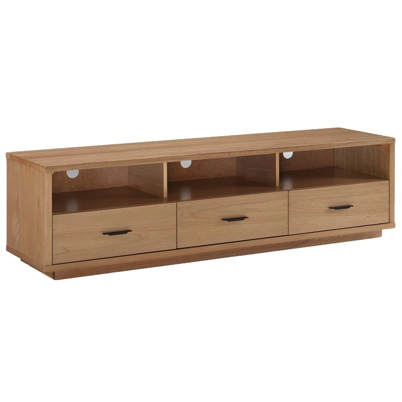 Paloma Solid Hardwood Timber TV Unit, 160cm