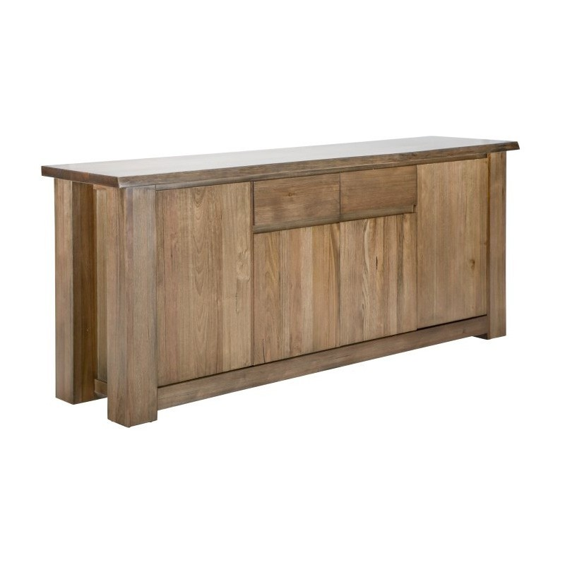 Wendelin Messmate Timber 4 Door 2 Drawer Buffet Table, 203cm