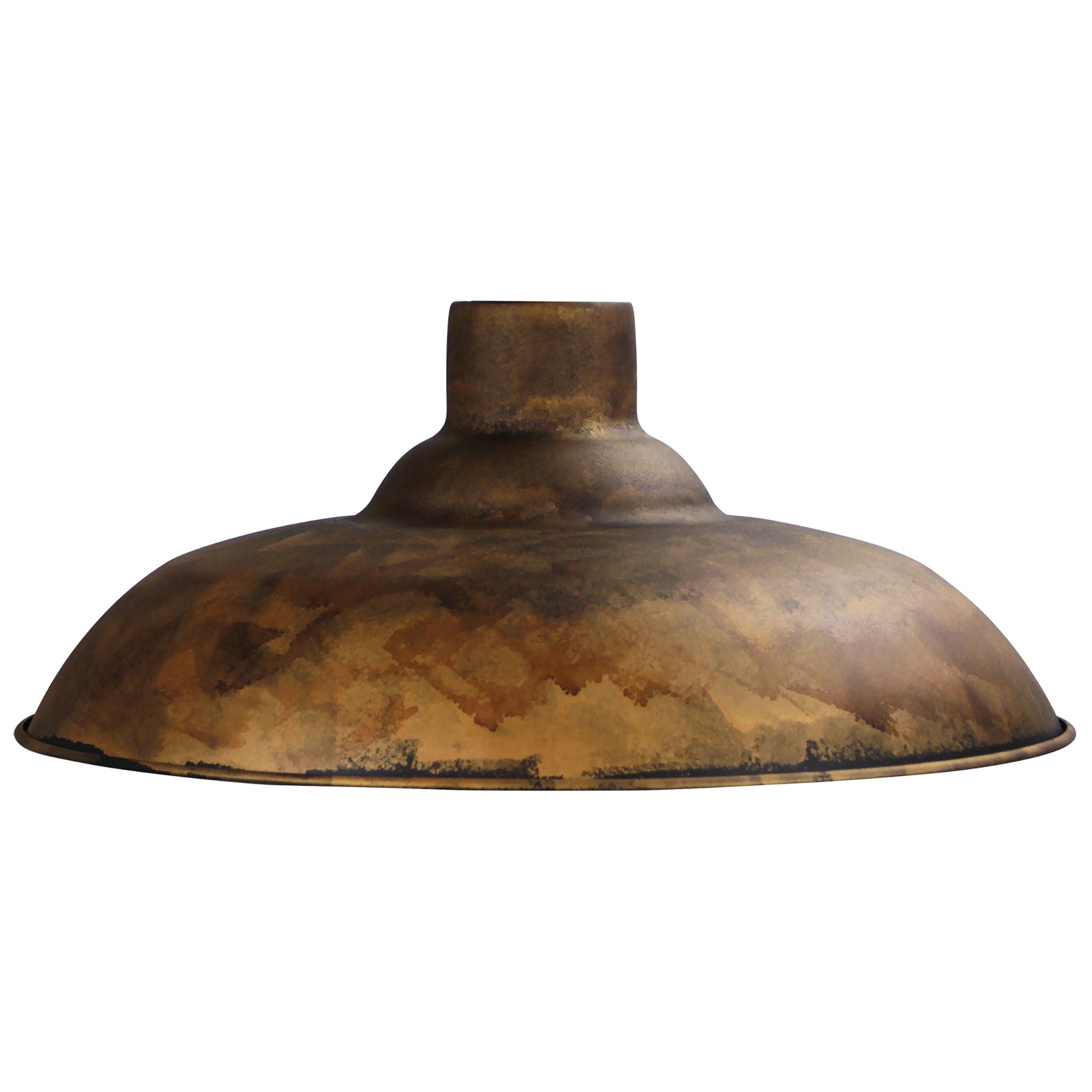 Slater Metal Pendant Light Shade, Rust