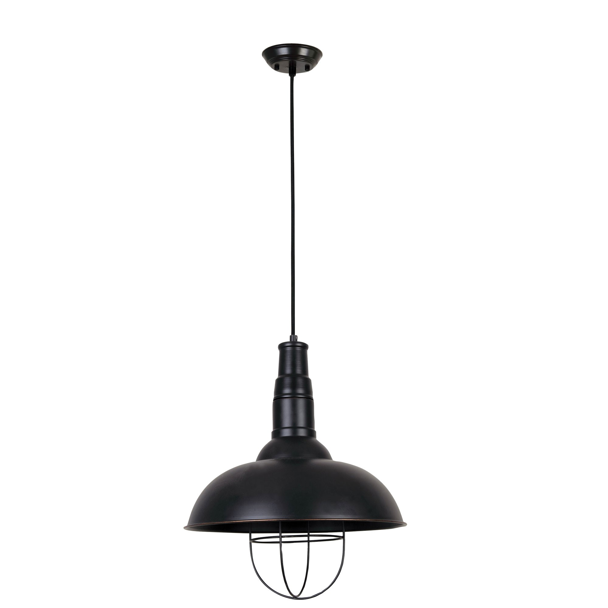Balmore Caged Metal Pendant Light