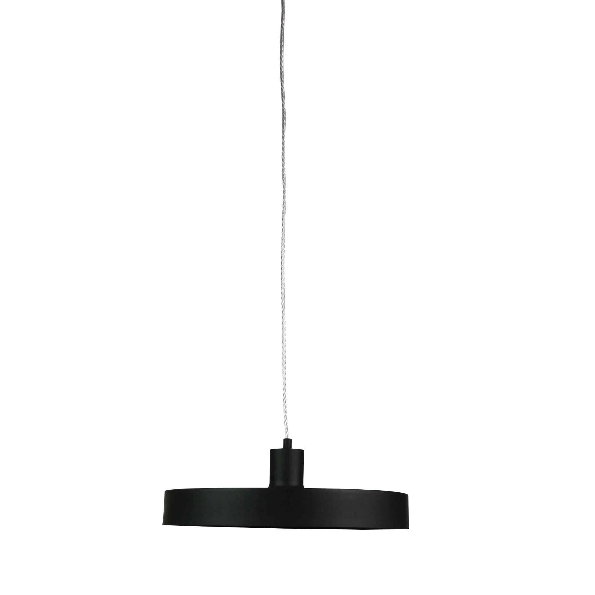 Orbis Metal Pendant Light, Black