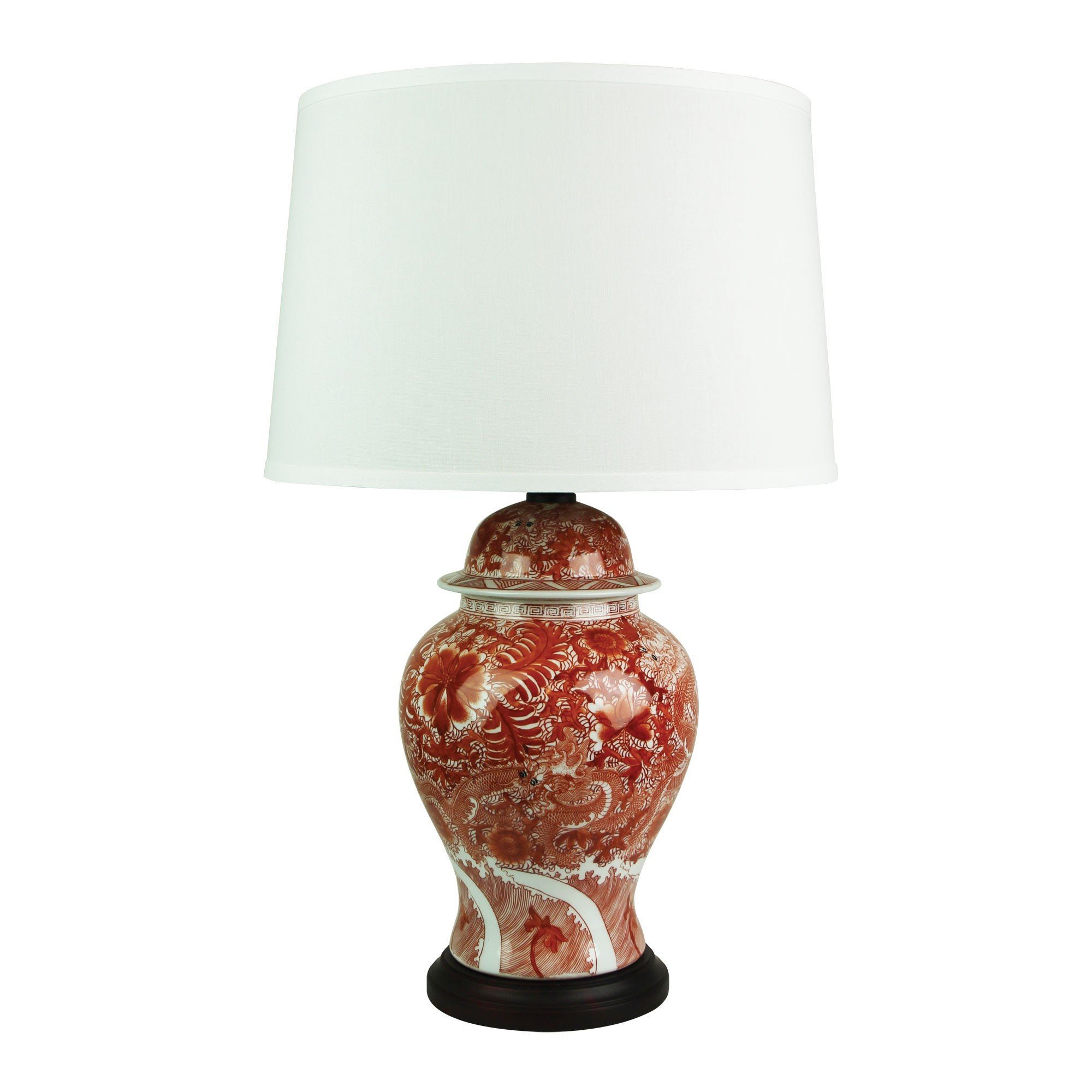 Longwei Hand Painted Ceramic Base Table Lamp