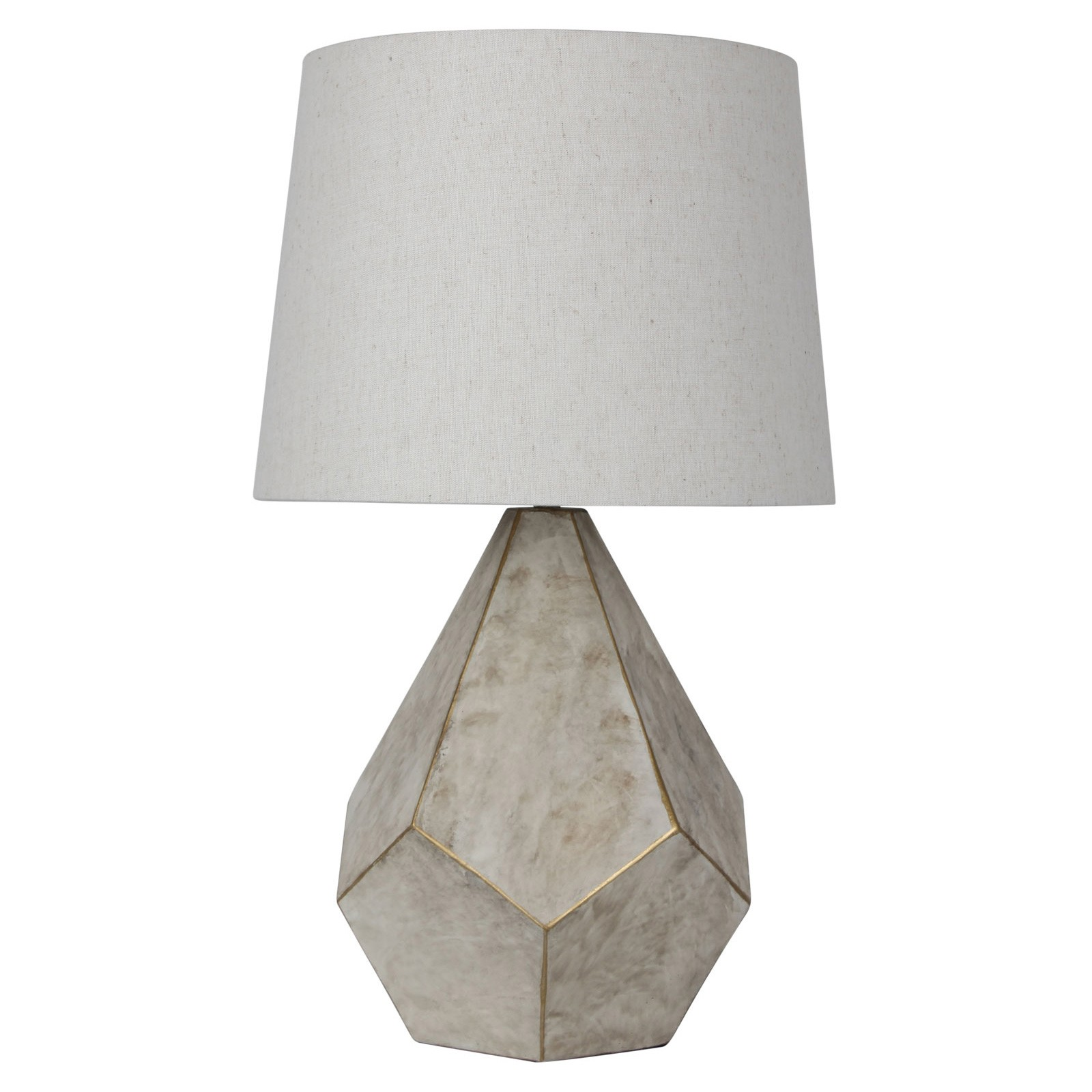 Leon Geometric Table Lamp
