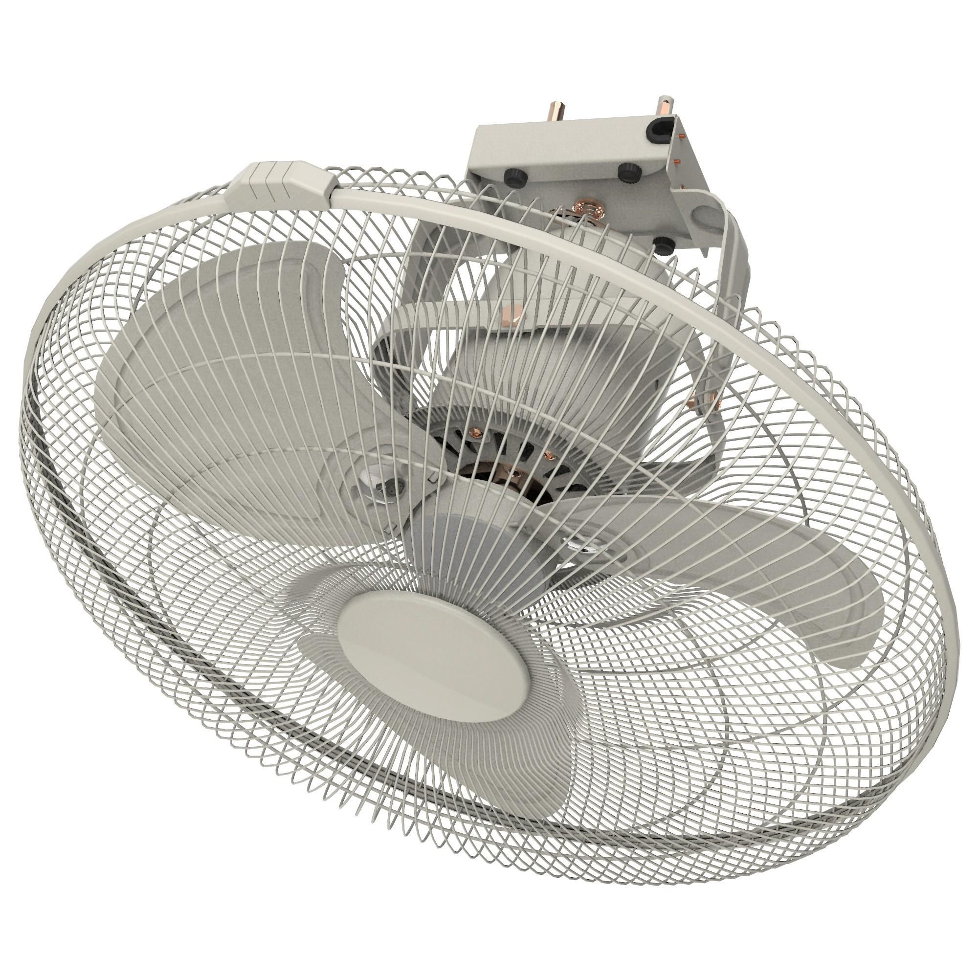 Ventair Orbital Commercial Grade Oscillating Ceiling Fan, 45cm