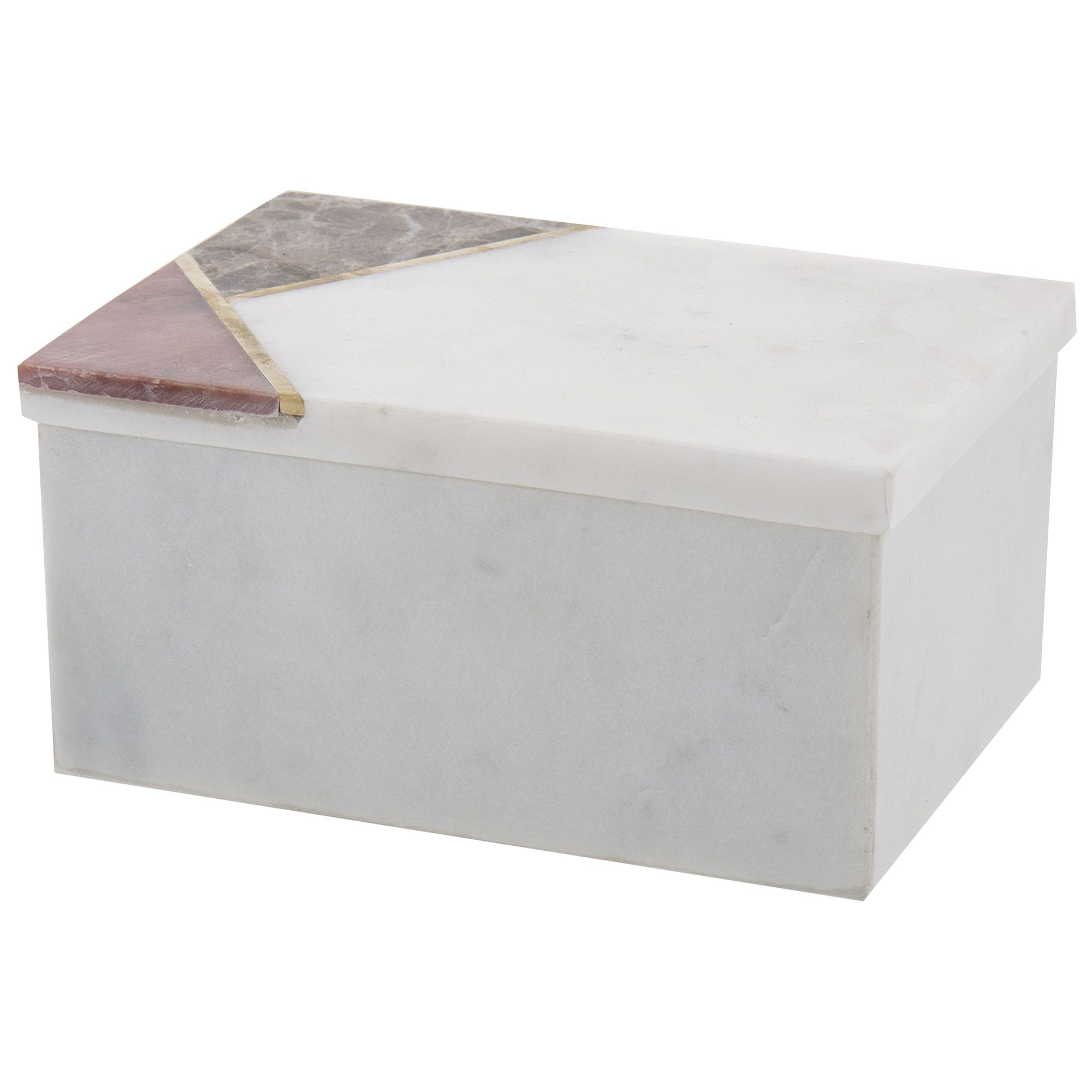 Levatina Marble Decor Box, Large