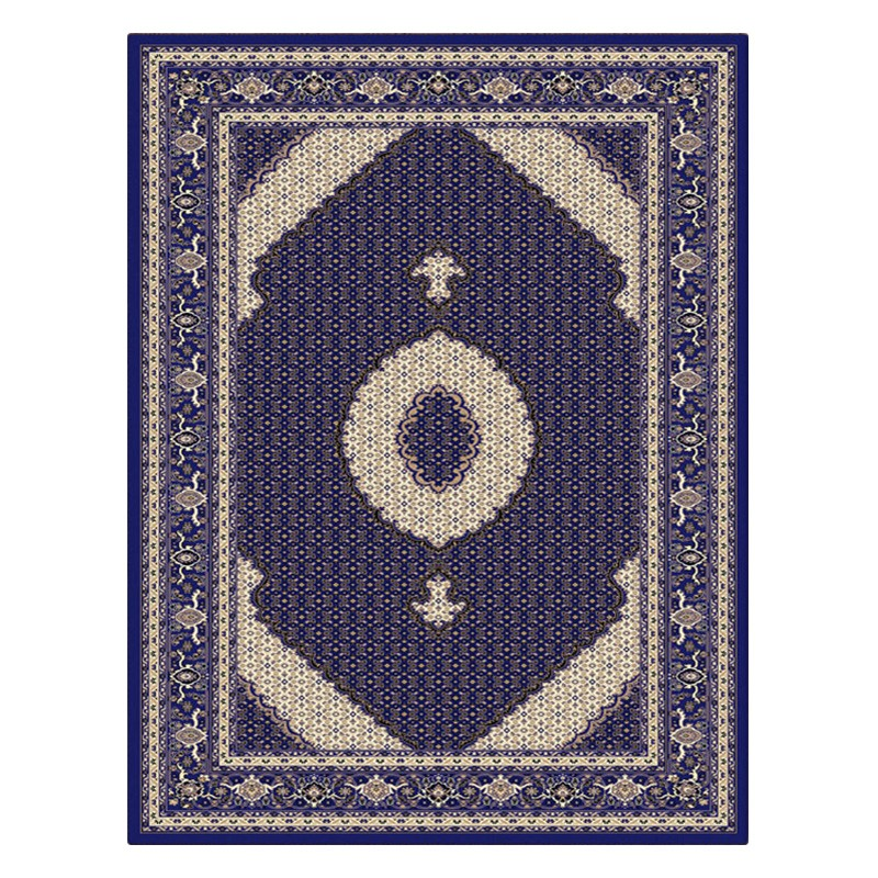 Palais Serapi Oriental Rug, 120x170cm, Dark Blue