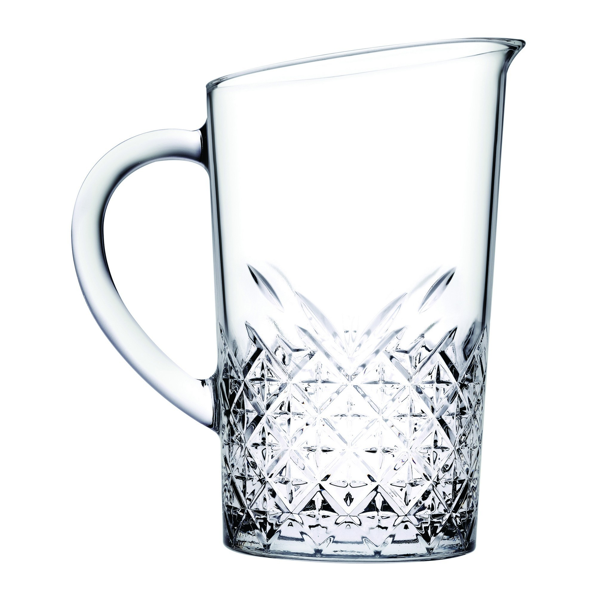 Pasabahce Timeless Glass Jug with Handle