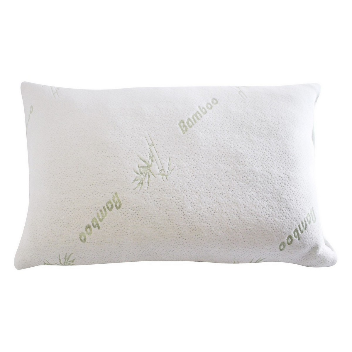 Odyssey Living Charcoal Infused Crumbed Memory Foam Pillow