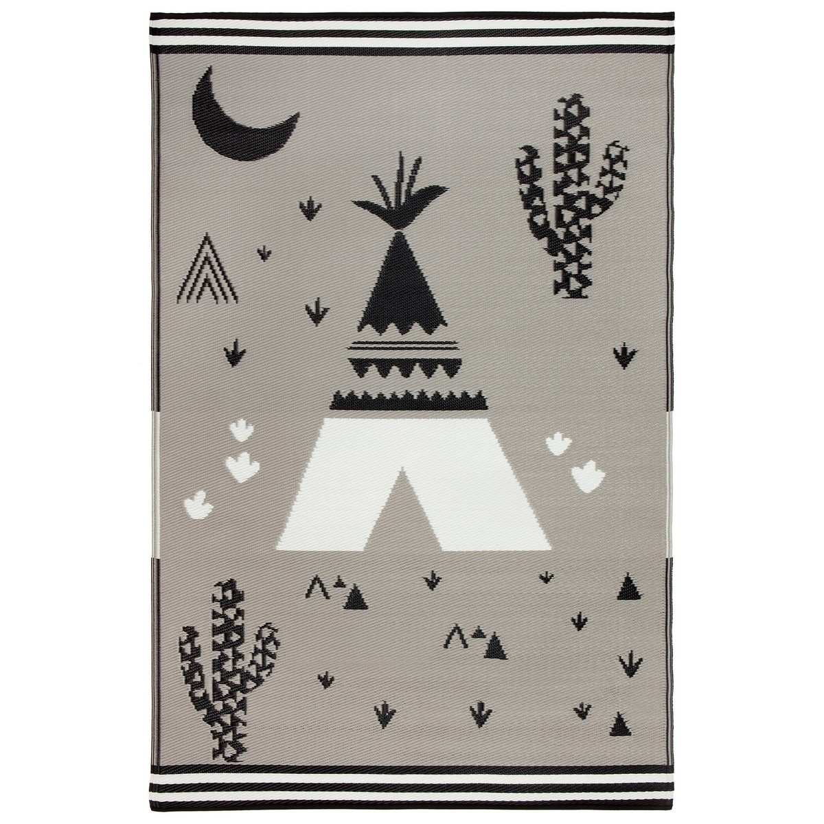 Teepee Indoor/Outdoor Kids Mat, 150x238cm