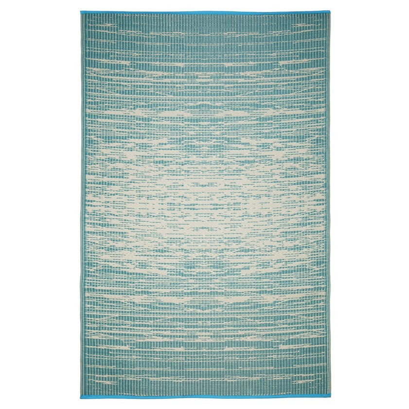 Brooklyn Reversible Indoor/Outdoor Rug, 150x238cm, Teal