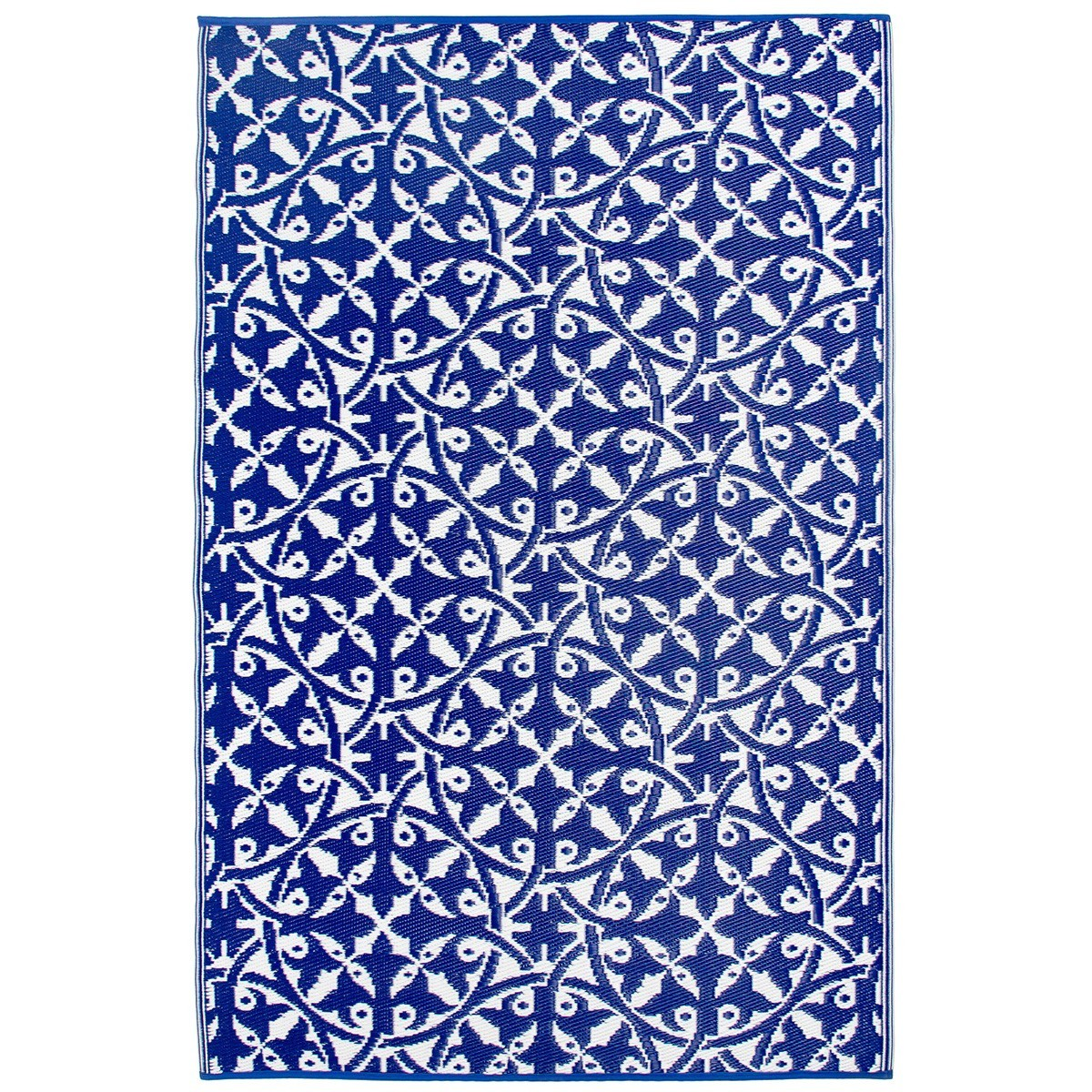 San Juan Reversible Indoor/Outdoor Rug, 120x179cm, Blue