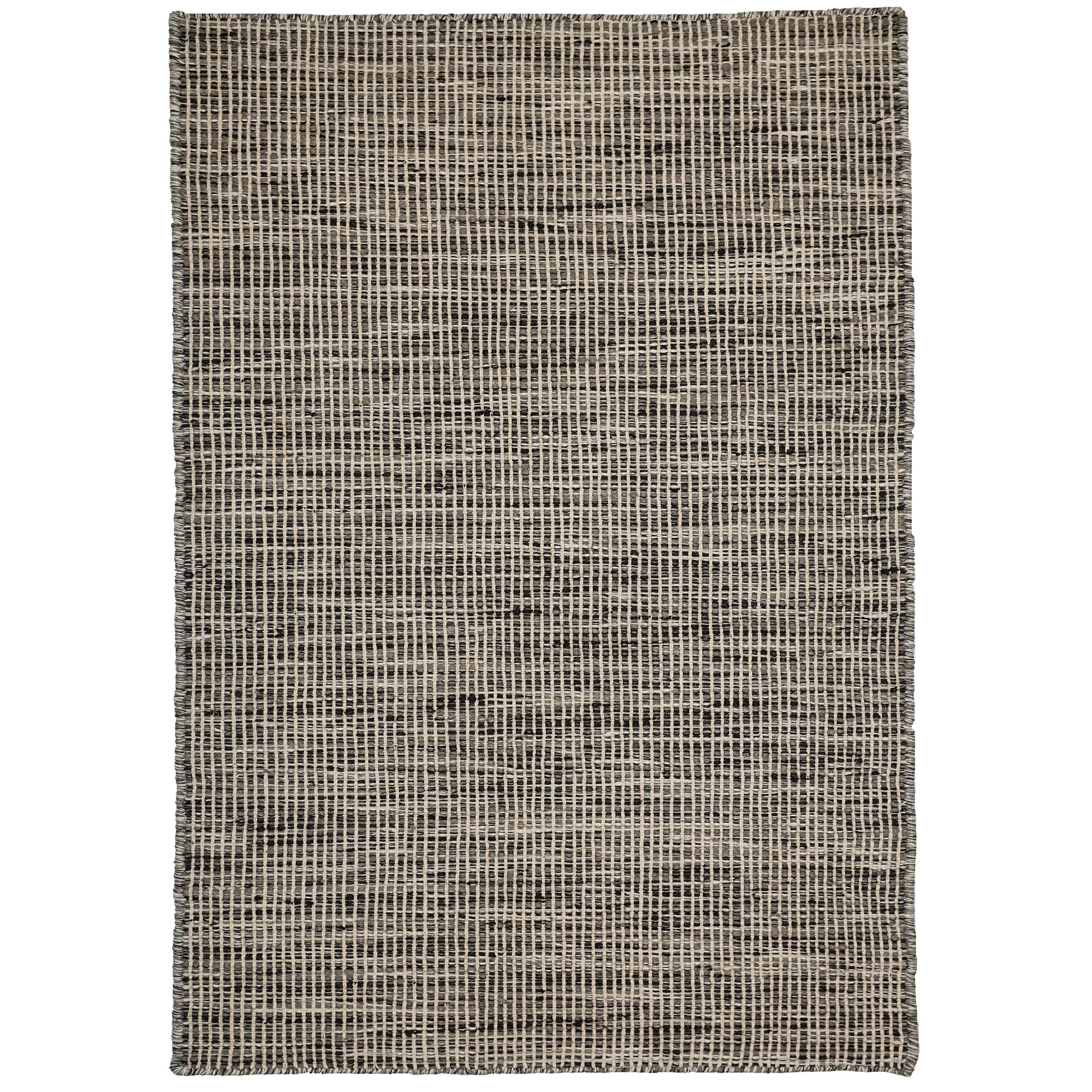 Pronto Handwoven Wool Rug, 330x240cm, Charcoal