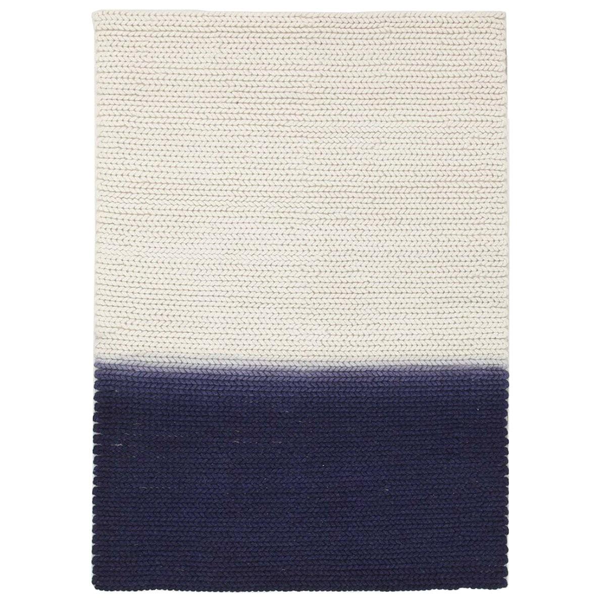 Fantasy Neele Handmade Wool Rug, 155x225cm, Blue
