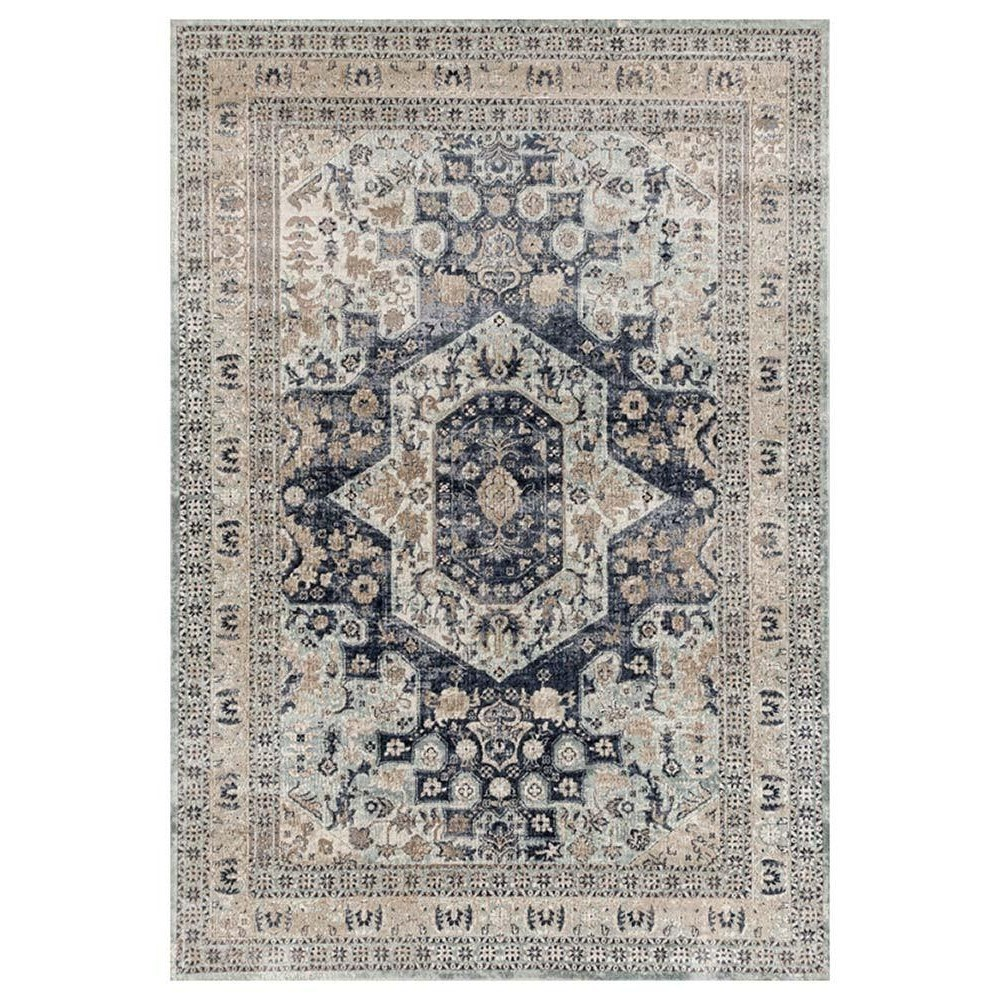 Esquire Central Oriental Rug, 300x400cm, Blue