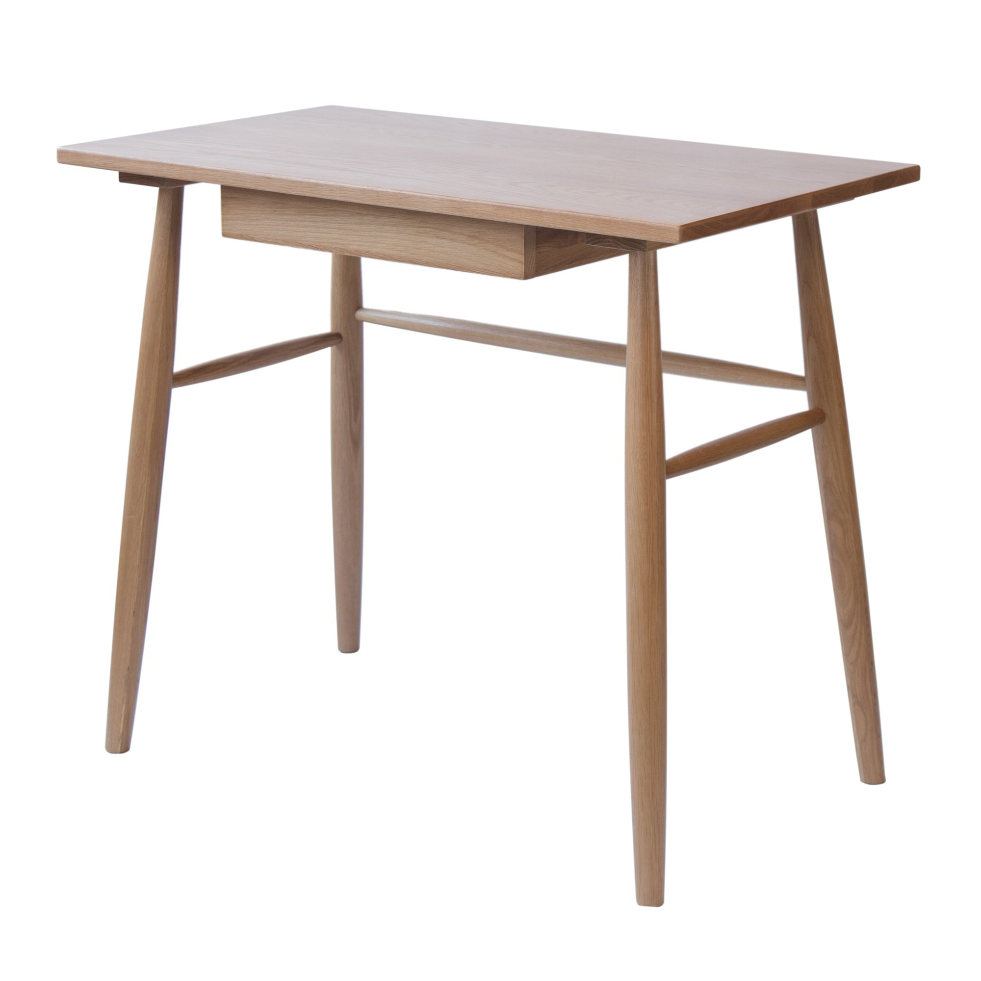 Cherise Oak Timber Desk, 90cm