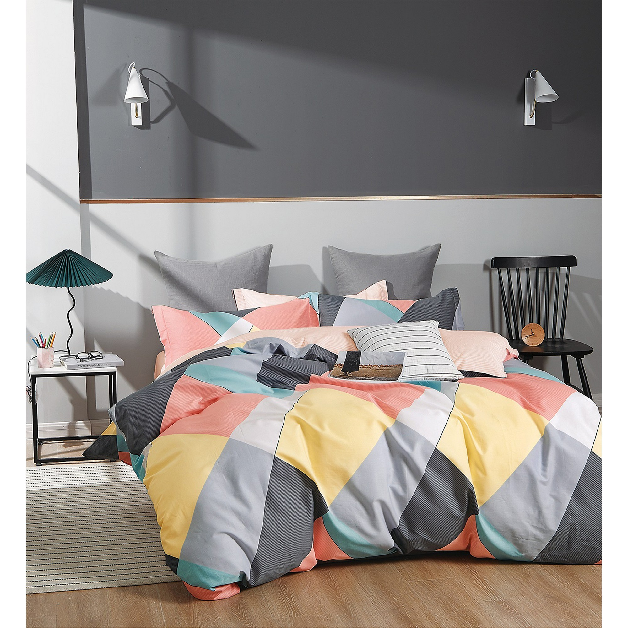 Ardor Sommer Cotton Quilt Cover Set, Double