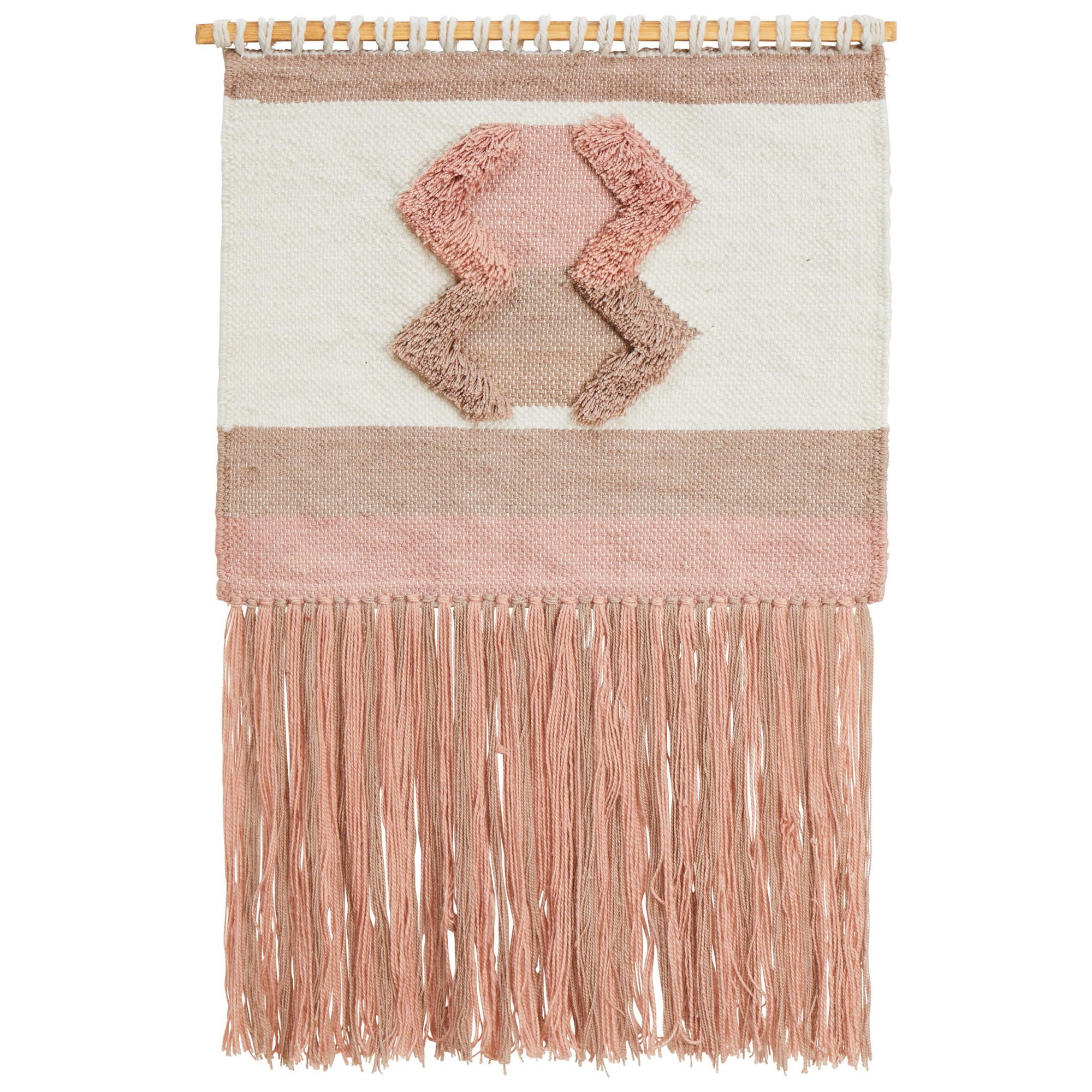 Twyla Handcrafted Textured Wall Hanging