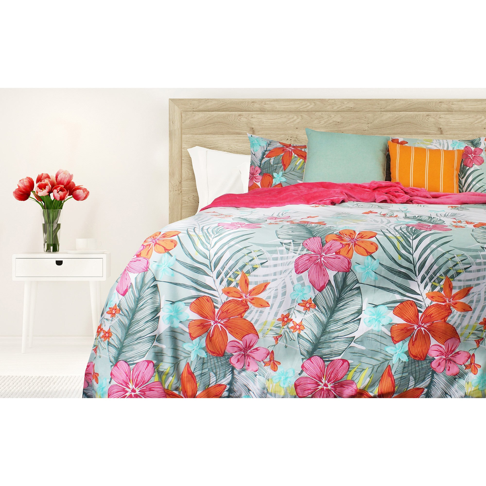 Odyssey Living Hartford Cotton Quilt Cover Set, Double