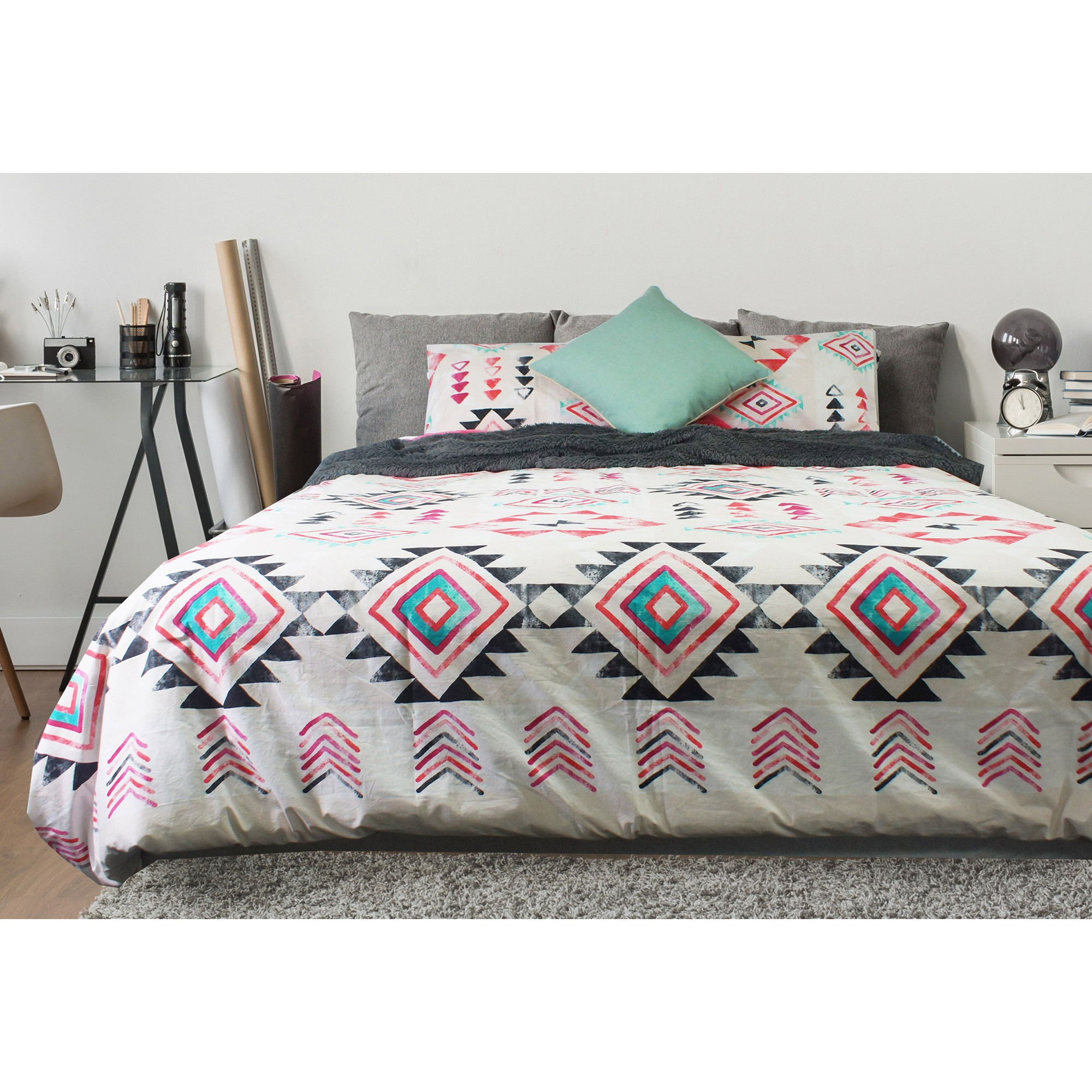 Odyssey Living Fiesta Cotton Quilt Cover Set, Single