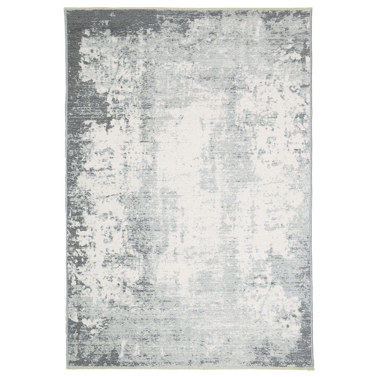 Rusty Vintage Abstract Reversible Rug, 120x170cm, Grey