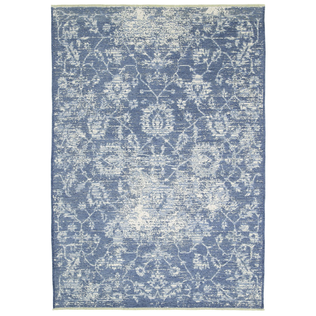 Rusty Vintage Classic Reversible Rug, 120x170cm, Blue