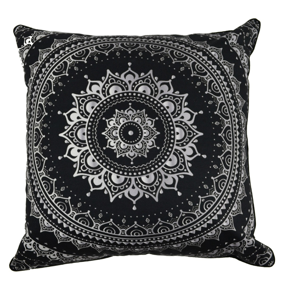 Mandala Wheel I Printed Cotton Scatter Cushion