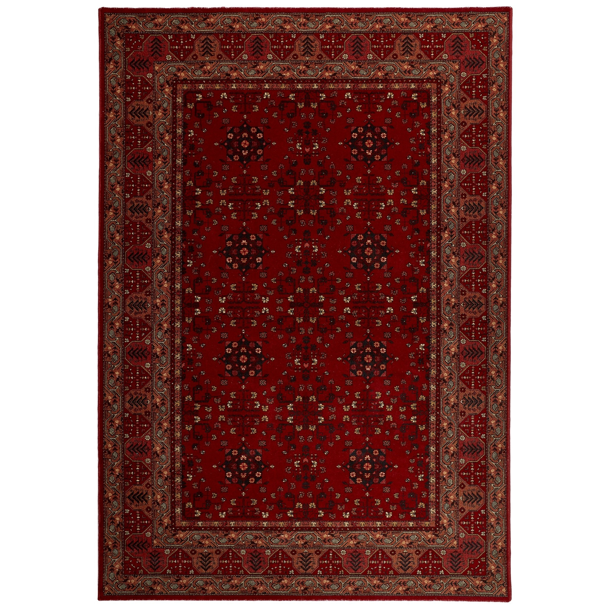 Royal Afghan New Zealand Wool Oriental Rug, 390x280cm