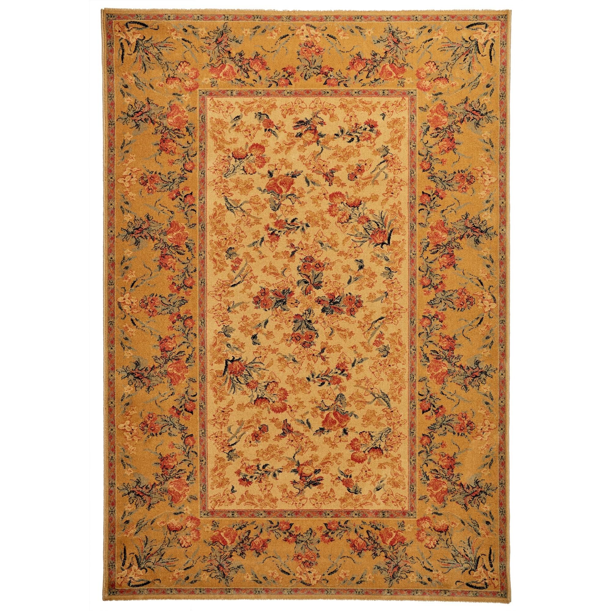 Royal Floral Wool Oriental Rug, 330x240cm