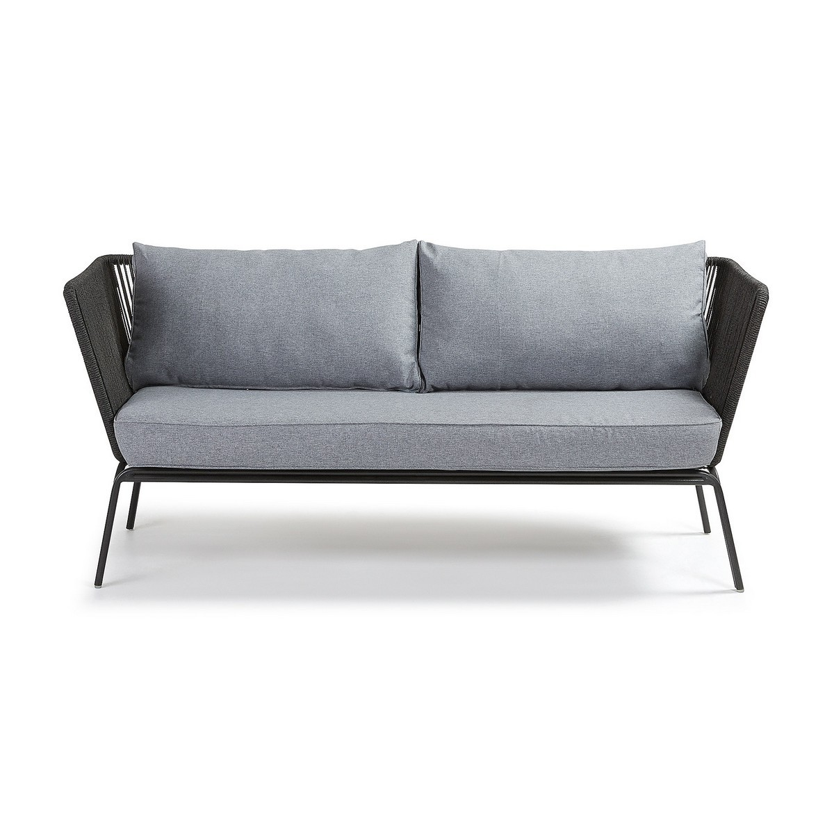 Liosia Rope & Steel 3 Seater Sofa